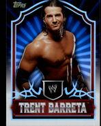 2011 Topps WWE Classic Wrestling Trent Barreta 67