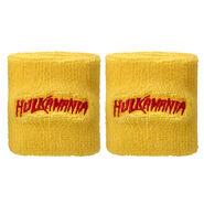 Hulk Hogan Hulkamania Yellow Wristbands