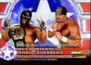 Rey Mysterio vs Chavo Guerrero