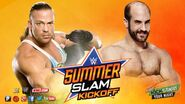 RVD vs Cesaro - SummerSlam 2014