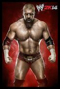 WWE2K14 Triple H CL 062513