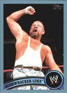 2011 WWE (Topps) Bushwhacker Luke 100