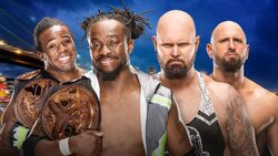 SS 2016 New Day v Gallows & Anderson
