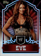 2011 Topps WWE Classic Wrestling Eve Torres 22