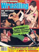 Sports Review Wrestling - April 1978