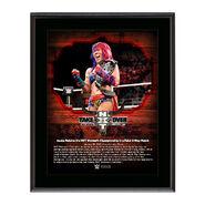 Asuka NXT TakeOver San Antonio 10 x 13 Commemorative Photo Plaque