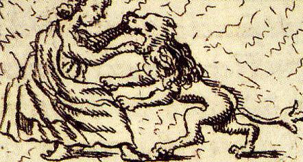 File:Fortitudo Papstgrab Bamberg aus Gottfried Henschen u Daniel Papebroch 1747.jpg