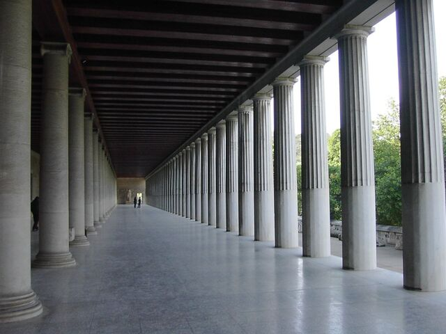 File:Stoa in Athens.jpg