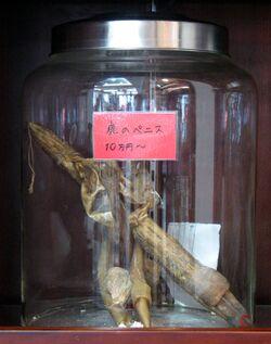 Yokohama Chinese Medicine Deer Penis
