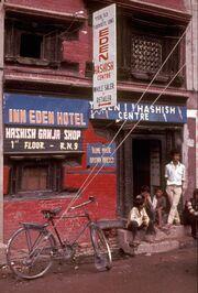 Hashish-shop-Kathmandu-1973