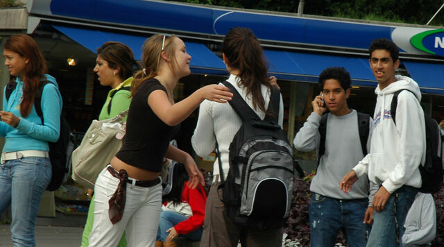 File:Diversity of youth in Oslo Norway.jpg