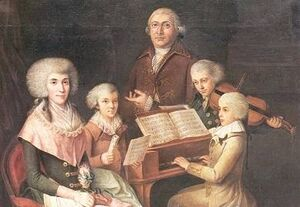 Mozart and Linley 1770