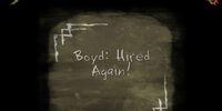 Boyd: Hired Again!
