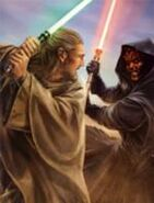Qui-Gon Jinn vs. Darth Maul