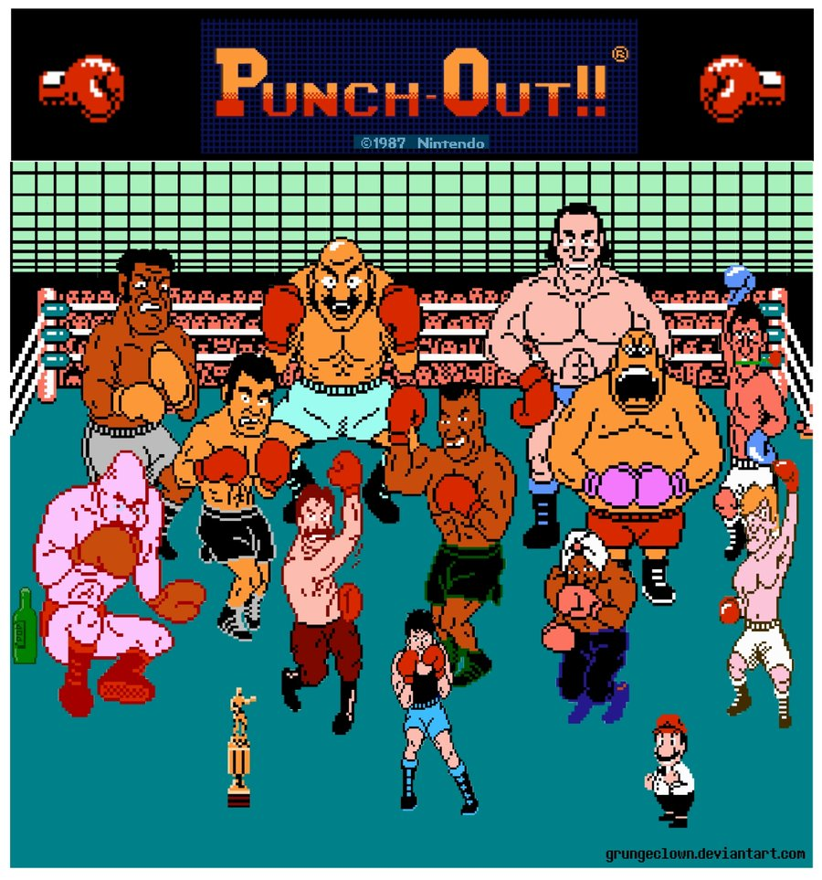 Image punch out by grungeclown punch out for What is a punch out list