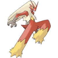 Blaziken Artwork