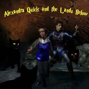 Alexandra Quick and the Lands Below cover