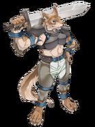 Werewolf transparent
