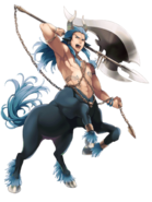 Frozen Axe Centaur transparent