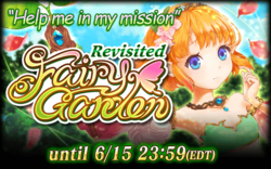 Fairy Garden Revisited (2015) Announcement