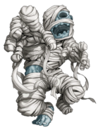 Blue Mummy transparent