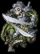 Skeleton Warrior (Lightning) transparent