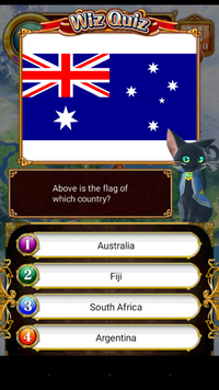 Wiz quiz - Australian Flag