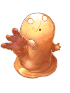 Fire Slime transparent