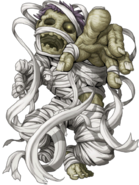 Yellow Mummy (Lord) transparent