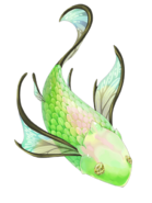 Emerald Fish transparent