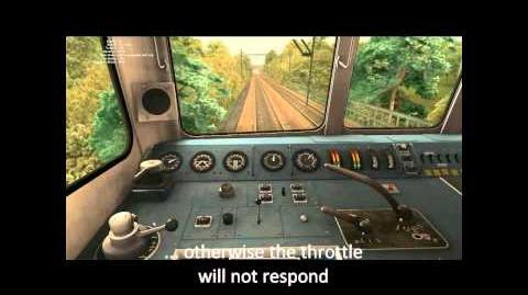 RailWorks Class 86 driving tutorial