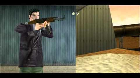 Tom Clancy's Rainbow Six- Rogue Spear AK 47