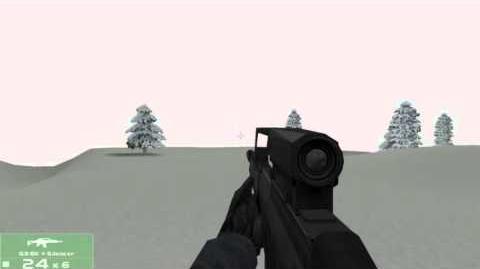 Tom Clancy's Rainbow Six 3 Raven Shield G36K