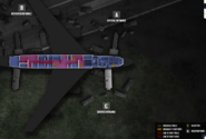 Presidential plane 2nd floor secure area