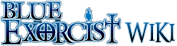 Ao no Exorcist Wiki Wordmark
