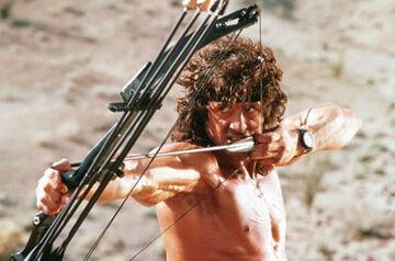 Rambo 3 Sylvester Stallone bow arrow