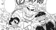Kotetsu, Koume and Koeda
