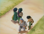 Ryoga passes Ranma - Ryoga Inherits Saotome School