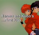 Ranma and Kuno's... First Kiss