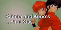 Ranma and Kuno's... First Kiss