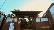 Tendo Dojo exterior - live-action
