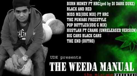 BIG CARS BLACK CARS - UDE (The Weeda Manual)