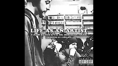 The Penpalz - Life As An Artist Audio