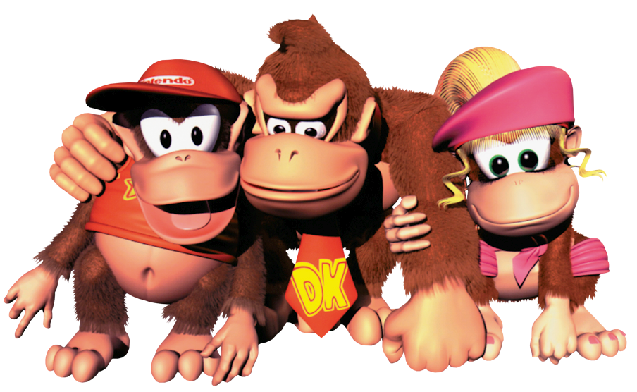 Donkey Kong Country FileGroup Art - Donkey Kong
