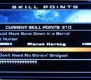 Puntos de habilidad