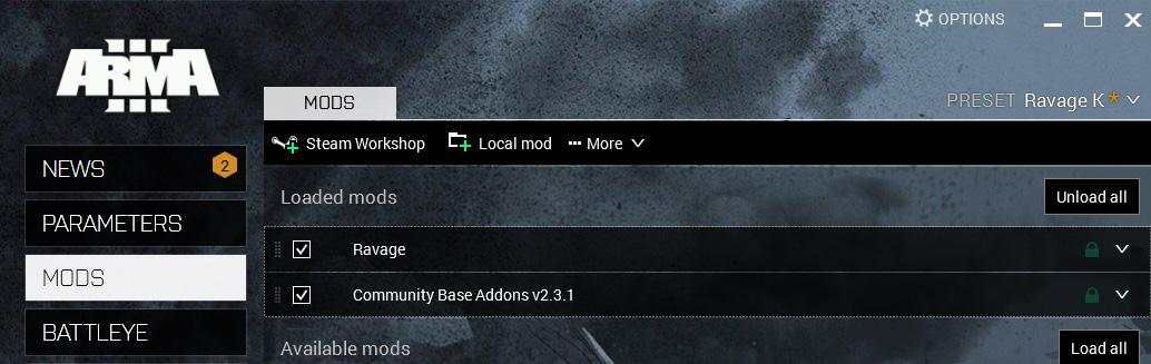 Run arma 3 dedicated server s