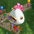 Fried Chicken Stall RCT2 Icon