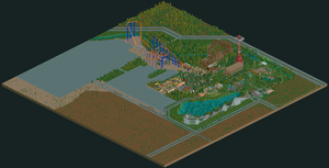 Six Flags Over Texas RCT2