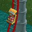 Reverse Freefall Coaster RCT2 Icon