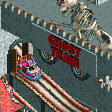 Ghost Train RCT2 Icon